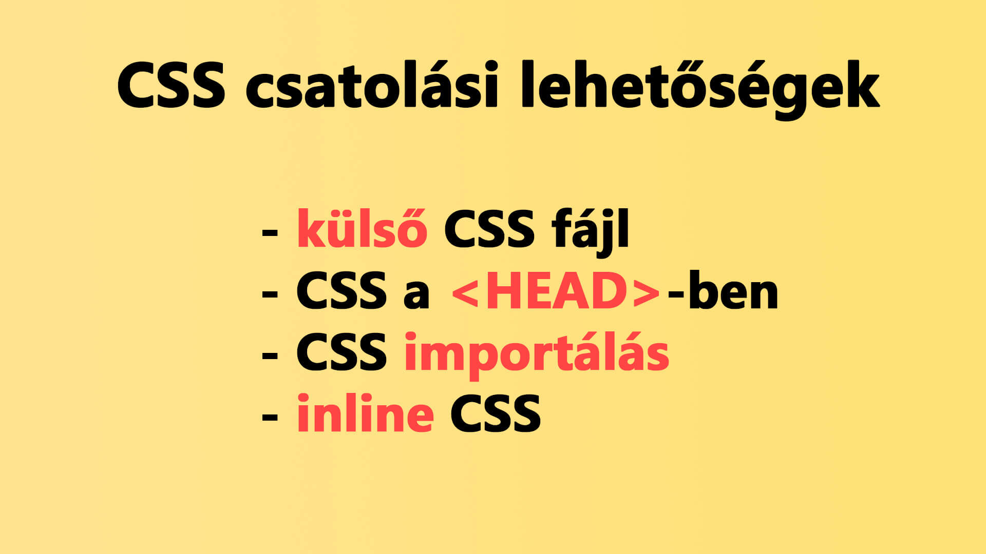 CSS használatának, csatolásának módszerei cikk nyitóképe
