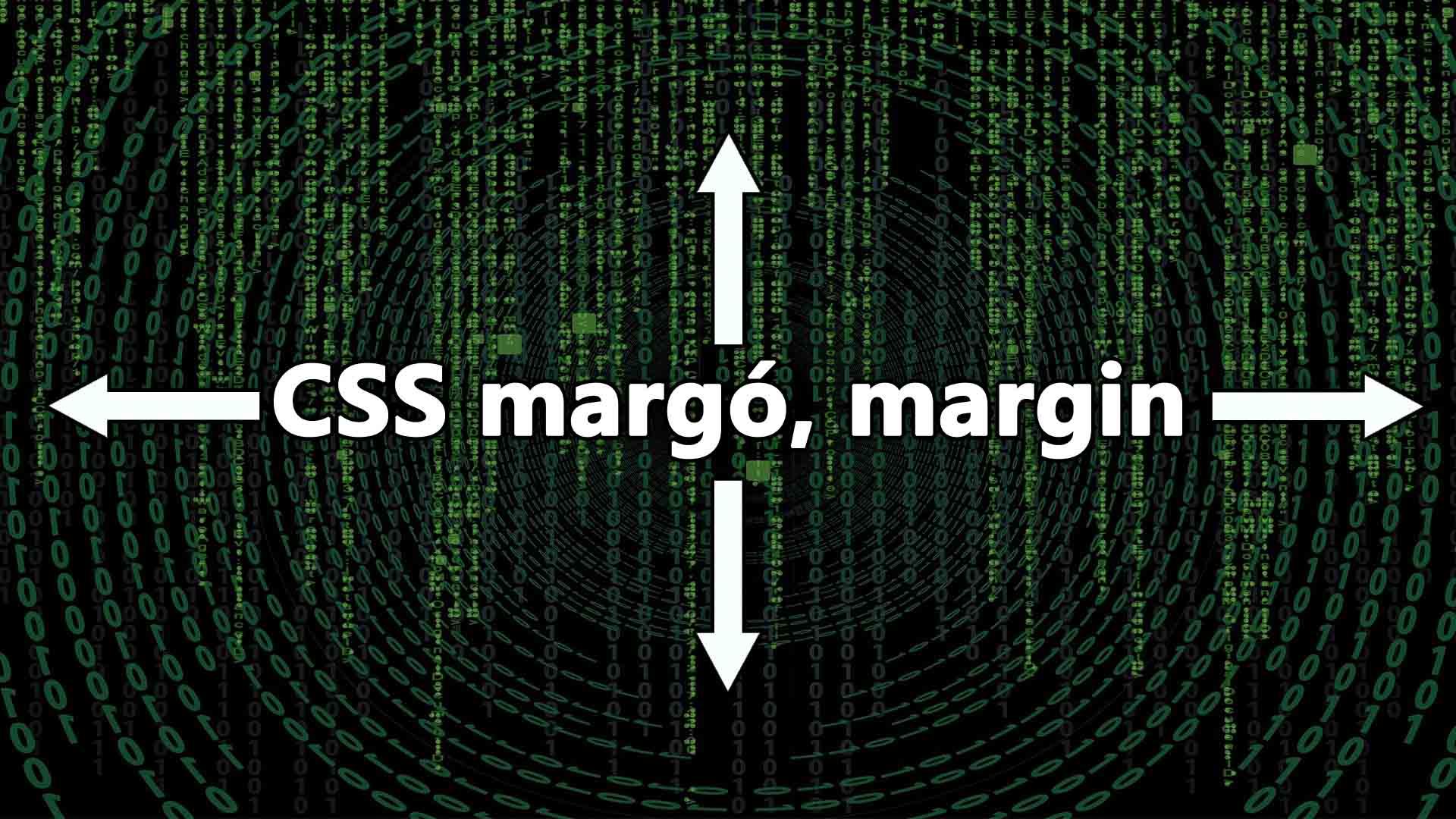 CSS margó beállítása (CSS margin) cikk nyitóképe